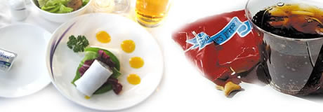 Getting the best from airline food